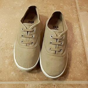 Zoe & Zac Boys Tan Nolan Casual Slip On Sneaker